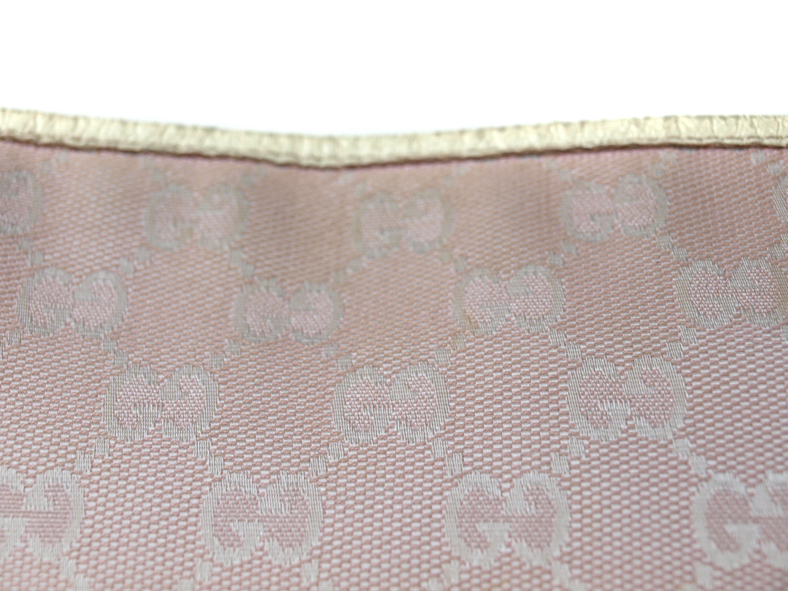 Authentic GUCCI GG Pattern Canvas Leather Pink Cross-Body Shoulder Bag GS13725L