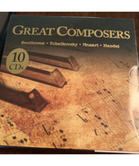 Great Composers- 10 CDSs -Various Artists - Sealed-Brand New - $7.57