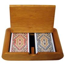 Wooden Box Set Paisley Narrow Regular - $51.83