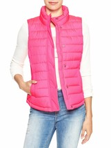 New Gap Women's Warmest Quilted Vest Pink Variety Sizes - $25.99
