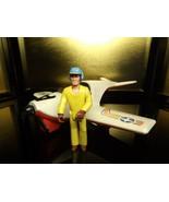 1974 Vintage Fisher Price Adventure People Daredevil Sport Plane #306 - $25.25