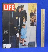 Life Magazine Kennedy Family Jackie Caroline John Jr Funeral Jack Decemb... - $16.69