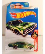 NIP 2016 Hot Wheels -69 Dodge Coronet  HW Flames Wheels 4/10 - B Case 94... - $2.96