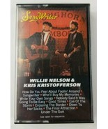 Willie Nelson & Kris Kristofferson Cassette Tape Songwriter Columbia 1984 - $5.89