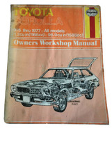 Toyota Corolla 1975-1977 Haynes Owners Workshop Manual - $15.62