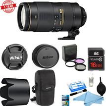 Nikon AF-S NIKKOR 80-400mm f/4.5-5.6G ED VR w/ 16GB MC | C.K | Filter Kit - $2,256.21