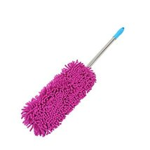 Car Accessories Long-handle Retractable Chenille Yarn Car Duster/Dust Brush,RED