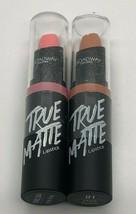 2 Pack Broadway Colors True Matte Lip Stick - Choose Your Shade - $7.99