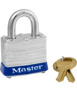 MasterLock Cylinder 4-Pin Tumbler Steel Dual Locking Padlock - $14.99