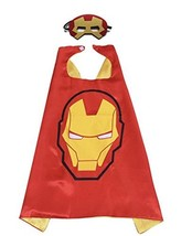 SBK Kids Dress up Superhero Cartoon Ironman Cape and Felt Mask Set. - $10.49
