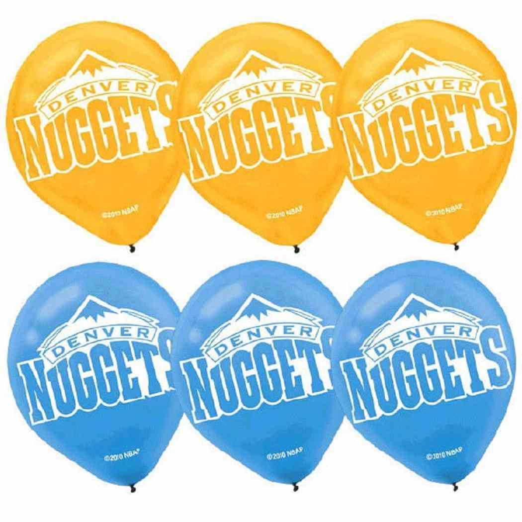 Primary image for Denver Nuggets NBA Pro Basketball Sports Party Decoration Latex Balloons