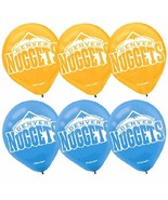 Denver Nuggets NBA Pro Basketball Sports Party Decoration Latex Balloons - $6.17