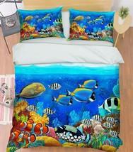 3D Bright Sea 20 Bed Pillowcases Quilt Duvet Cover Set Single Queen King Size AU - $90.04+