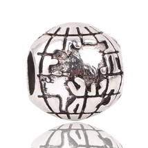 Couqcy Free Shipping Charm Bead Silver Color LOVE Bead Fit Pandora Origi... - $10.79