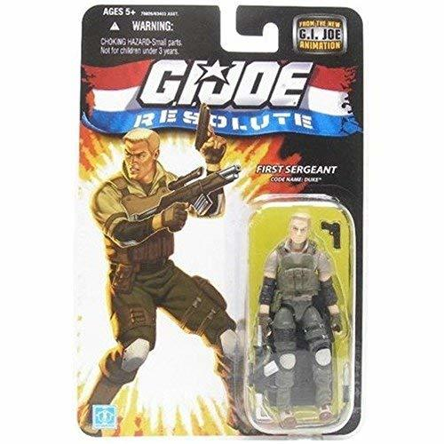 "G.I. JOE Hasbro 3 3/4"" Wave 13 Action Figure Duke Resolute"