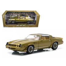 1981 Chevrolet Camaro Z/28 Gold Metallic 1/18 Diecast Model Car by Green... - $71.41