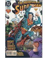 DC ADVENTURES OF SUPERMAN (1987 Series) #520 VF - $0.89