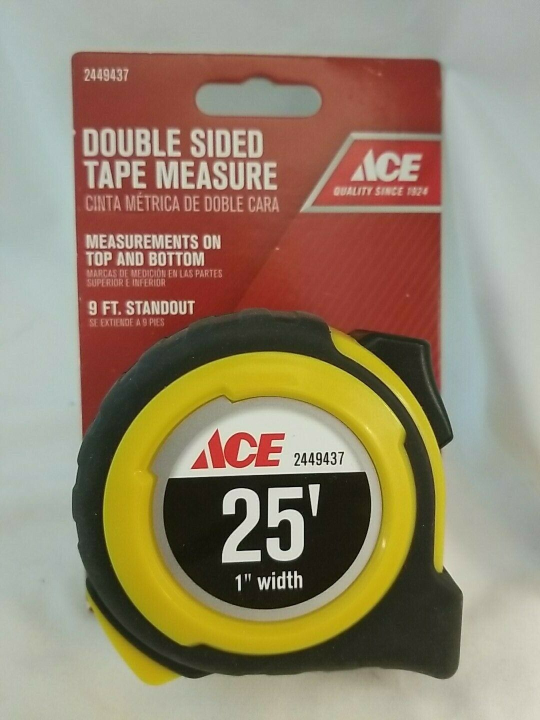 Primary image for Ace 25' Double Sided Tape Measure 2449437