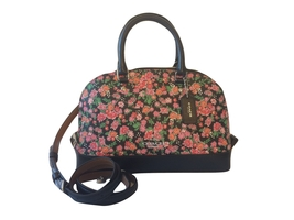 Coach MINI Sierra Satchel Posy Cluster Floral Pink - $119.95