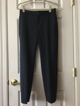 Banana Republic Martin Fit Blue Ankle Dress Pants Women's Size 2 wool spandex - $31.68