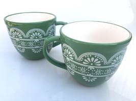 Prototype! Pioneer Woman 2 Nan Green Cups - $32.19