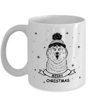 Husky Merry Christmas - Funny Xmas Gifts Coffee Mug for Husky Dog Lover - $13.90+