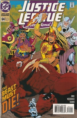 Justice League International #64 May 1994 [Comic] [Jan 01, 1994] Gerard Jones an