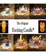 1 Rainbow + 1 R/W/B  Amazing Lotus Flower Music Happy Birthday EXCITING ... - $14.99