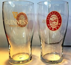 GUINNESS Porter Mallow Beer Bar Glass 16oz Dublin  - $8.56