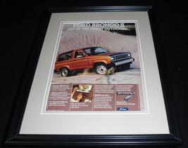 1984 Ford Bronco Framed 11x14 ORIGINAL Vintage Advertisement - $34.64
