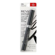 REVLON* Crayon LUXURIOUS COLOR Liner+Shadow SMOKY Eye Makeup BLACK SMOKE... - $10.99