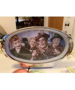 I love Lucy Wind Up Stand Up Table Top Oval Alarm Clock California Here ... - $39.99