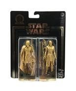 Star Wars Commemorative Edition Kylo Ren Rey Palpatine Gold Figures - $14.99