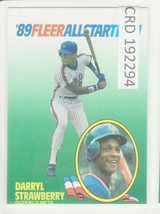 1989 89 Fleer All Star Team Darryl Strawberry   192294 - $0.98