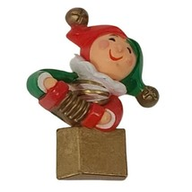 VTG Hallmark Pin Brooch Christmas Jack in the Box Toy Jester Clown Holid... - $11.87