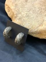 """Southwestern Sterling Silver Earrings 1"""" 8985 - $83.31"""
