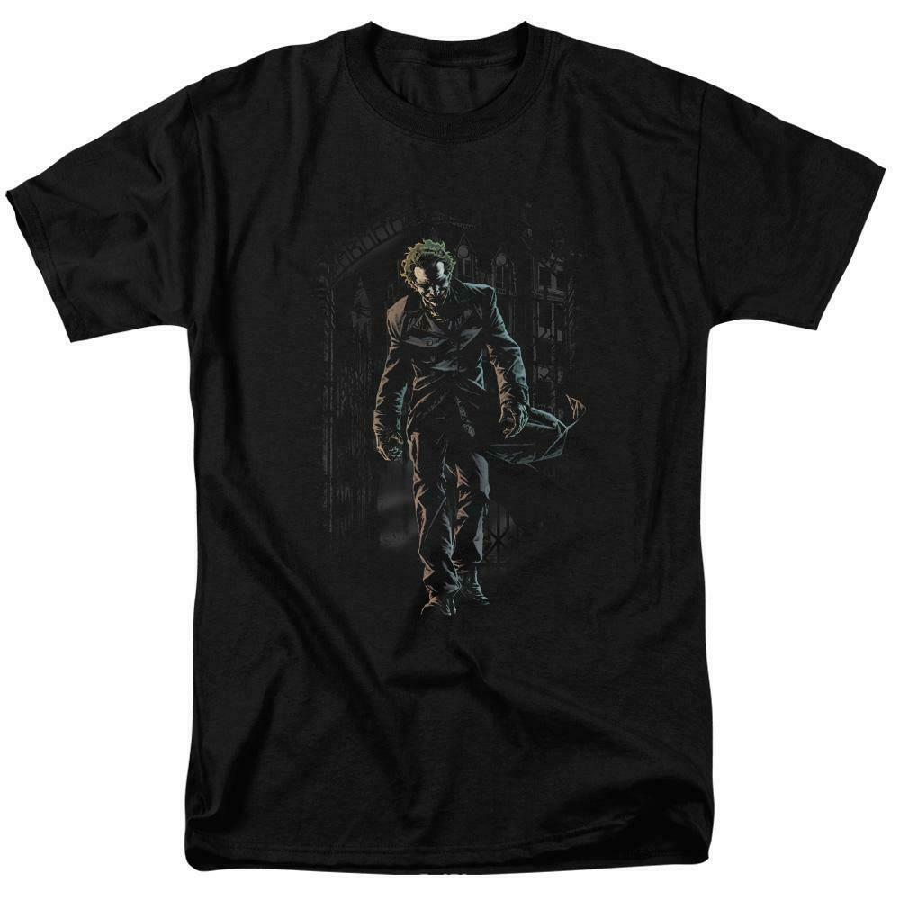 The Joker t-shirt iconic villain DC comics batman archenemy graphic tee BM2191