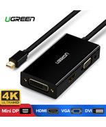 UGREEN® Mini DisplayPort To HDMI VGA DVI Adapter Thunderbolt 2 HDMI - $23.51
