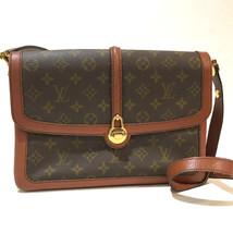 AUTHENTIC LOUIS VUITTON Monogram Sac Vendome vintage Shoulder Bag Canvas... - $730.00
