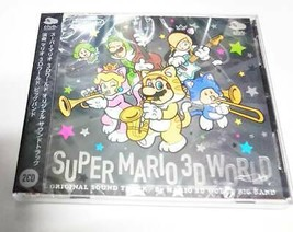 Super Mario 3D World Original Sound Track 2 CD Club Nintendo Limited Unused - $79.35