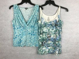 ANN TAYLOR New York & Co. Womens Misses SIZE MEDIUM M Top Tank Shell LOT... - $10.14
