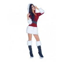 Underwraps Tout Enveloppé Santa Sexy Noël Adulte Femmes Costume 29411 - £32.18 GBP