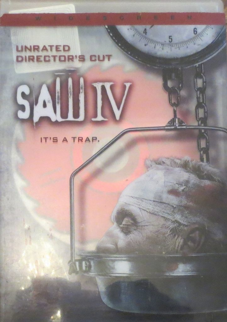 Primary image for Saw IV (DVD, 2008, Widescreen - Unrated Director's Cut)