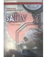 Saw IV (DVD, 2008, Widescreen - Unrated Director's Cut) - $5.34