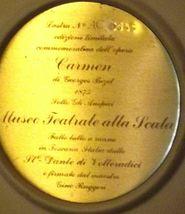 """""""Carmen"""" Di Volteradici Commemorative Plate by Gene Ruggeri AA20-CP2330 Vintage image 6"""