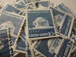 "USA  stamp lot #1520 Jefferson Memorial - Coil ""1974"" CV $20.00 - 100 pack - $3.99"