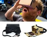 DIY Ultra Clear Google Cardboard VR BOX 2.0 Virtual Reality 3D Glasses for iPhon