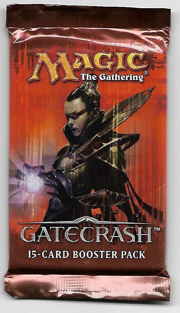 Magic The Gathering GateCrash Sealed Booster Pack English!