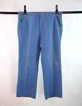 Vintage 1980s LEVIS Orange Label Blue Denim Jeans Retro Pants Mens Size 36 x 29 - $24.74