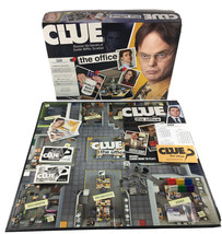 Clue The Office Edition Board Game Dunder Mifflin Hasbro 100% Complete 2009 - $45.99
